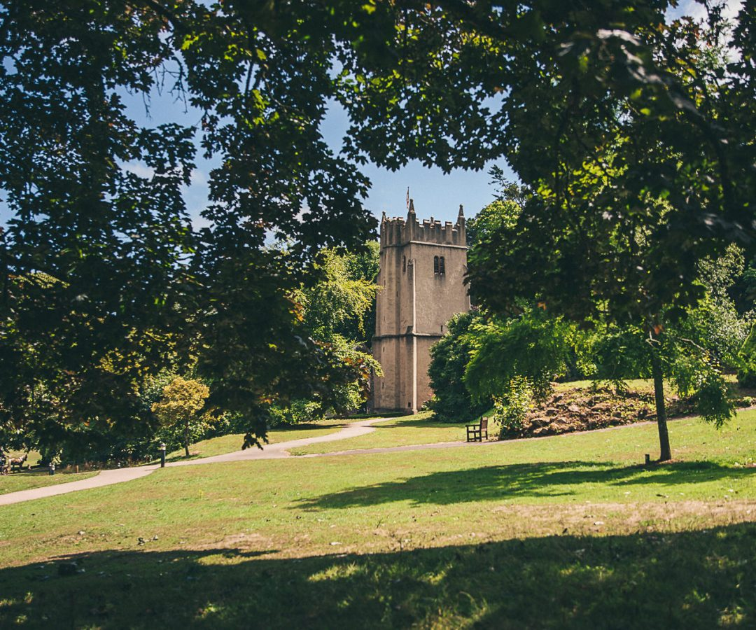 Church of St George within the grounds of Cockington Court