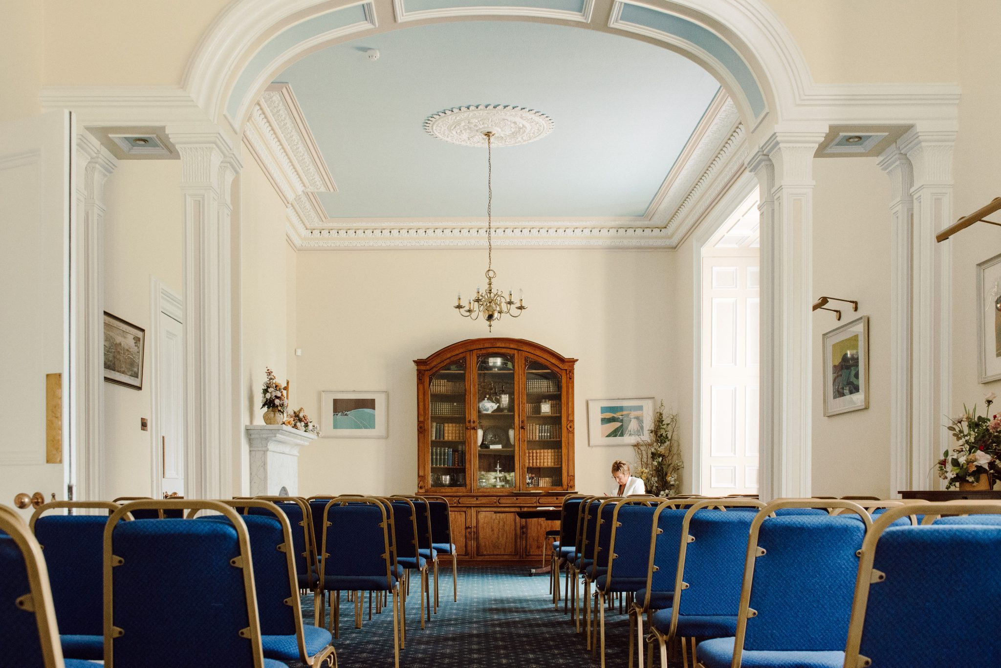 Ceremony Room at Larkbeare House in Exeter