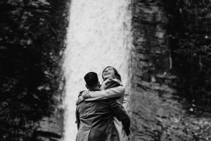 Lydford Gorge surprise proposal on dartmoor